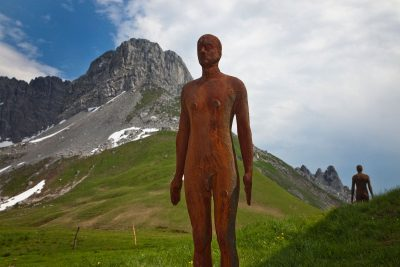 Antony Gormley's Horizon Field Lech 2012