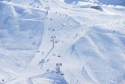 Skigebiet Zürs heute