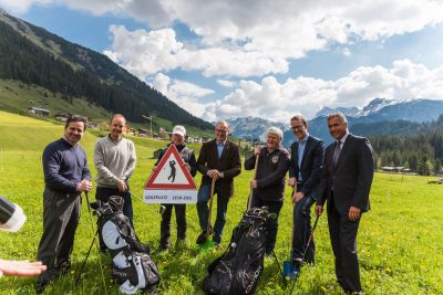 Spatenstich Golf Club Lech 2014