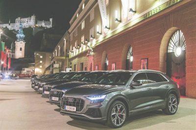 Audi bei den Salzburger Festspielen ©Porsche Austria
