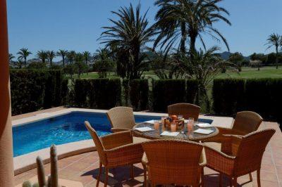 Coto Del Golf 128 Dining/Pool area