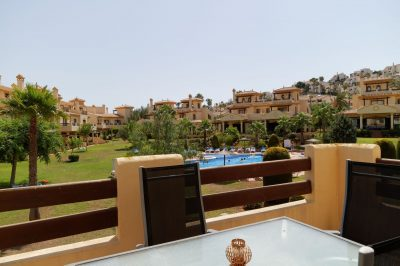 Hacienda del Golf 544 Balcony