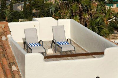 Los Altos 367 Roof terrace