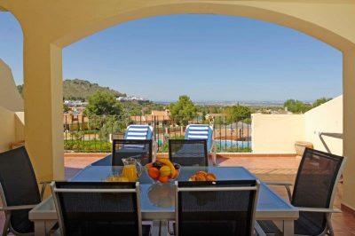 Los Olivos 469 Balcony view