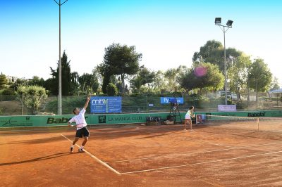 Tennis at La Manga