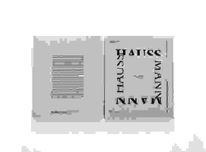 Catalogue Paris Haussmann Lan 01 Cover