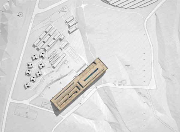 Lan Alma Hotel Plan Masse