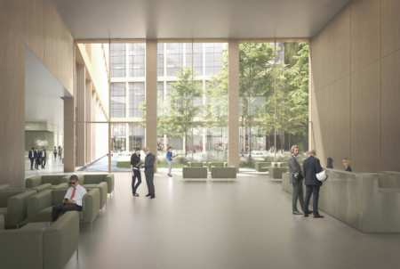 Projet Icade Lan Hall Principal