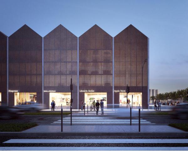 Bordeaux lan local architecture network paris