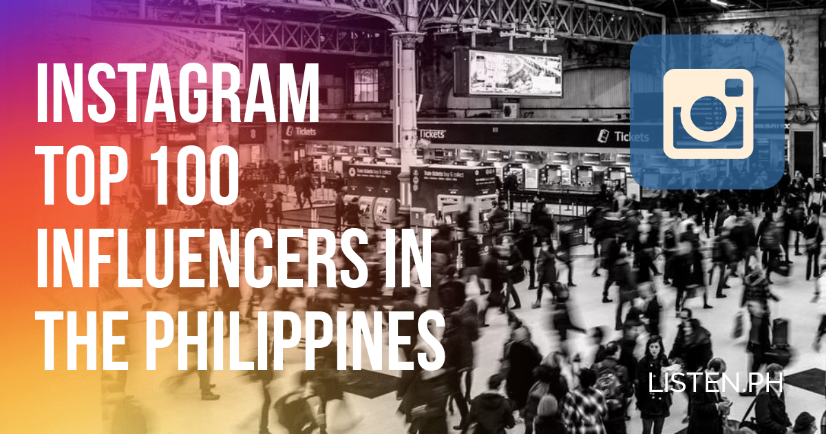 The Most Popular Instagram Influencers in the Philippines 2018