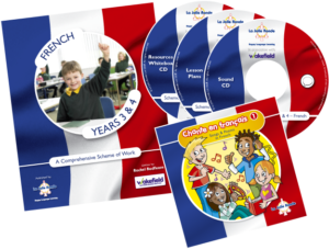 French Scheme of Work for KS2 - Years 3&4 cover