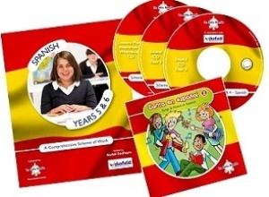 Spanish Scheme of Work for KS2 - Years 5&6 cover