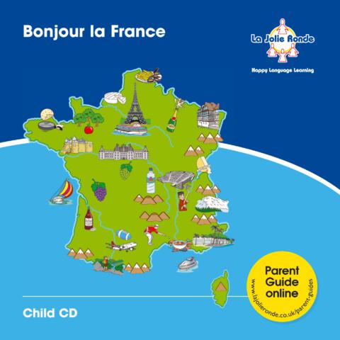 Fr  Bonjour  Child  Cd  Inlay
