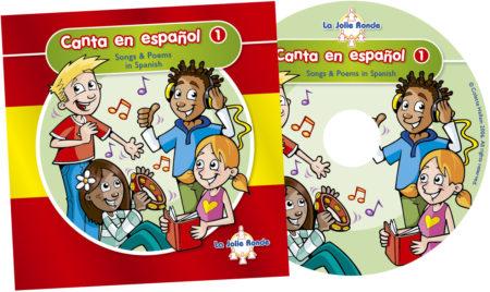 Canta en español 1 CD