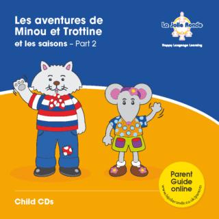 Les Aventures (Amis) CD - Part 2