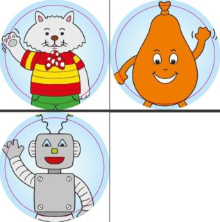 Las aventuras Part 1 (juguetes) sticker set