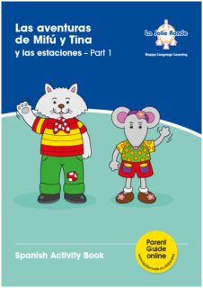 Las aventuras Part 1 (juguetes) - Activity Book