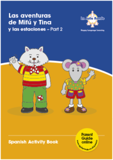 Las Aventuras (amigos) Activity Book - Part 2