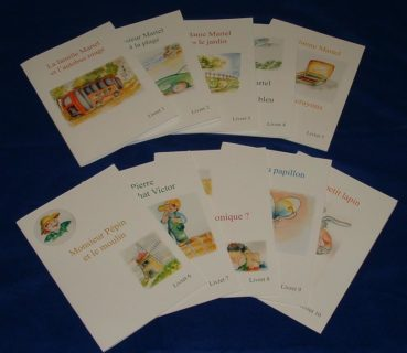 La famille Martel - 10 French reading books