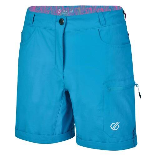 Dare2b Womens/Ladies Melodic II Multi Pocket Walking Shorts (8 UK) (Black)