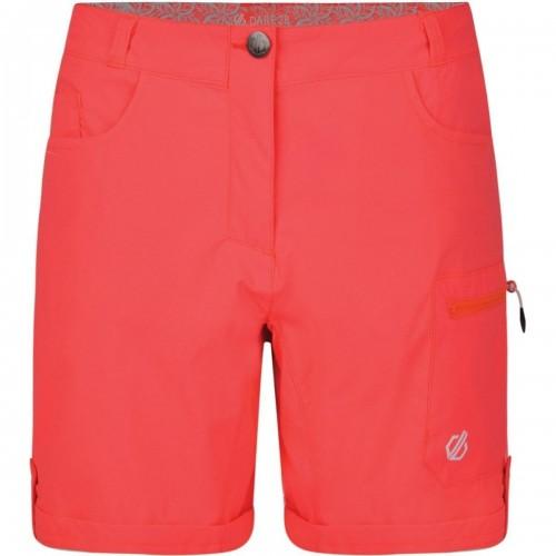 Dare2b Womens/Ladies Melodic II Multi Pocket Walking Shorts (14 UK) (Fiery Coral)