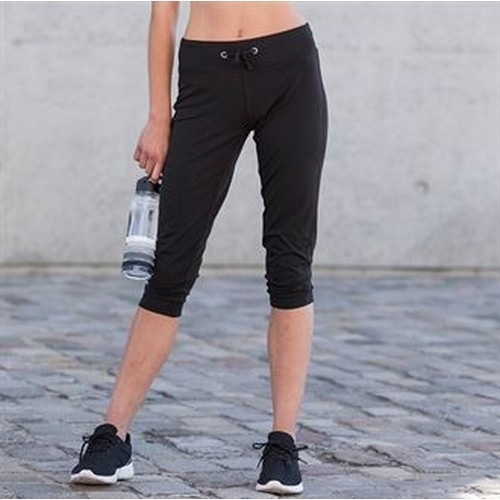 Skinni Fit Pantalones De Deporte De Tres Cuartos Para Mujer Rw4425 Ebay