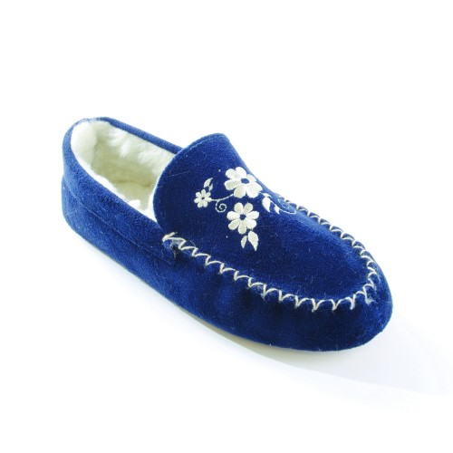 Women's Slippers. There are many different kinds of slippers available for women to buy. Moccasin, ballet, and clog slippers are just a few of the available types for women that can be suitable for a variety of seasons and situations.