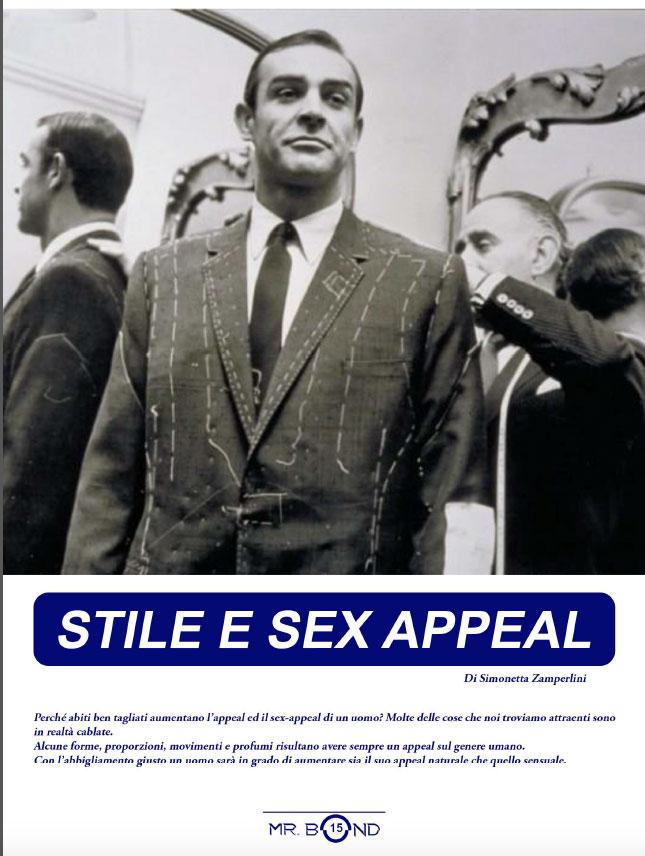 stile e sexappeal articolo scritto per Mr. Bond da Simonetta Zamperlini