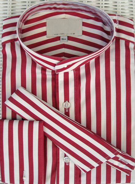 camicia con colletto staccabile