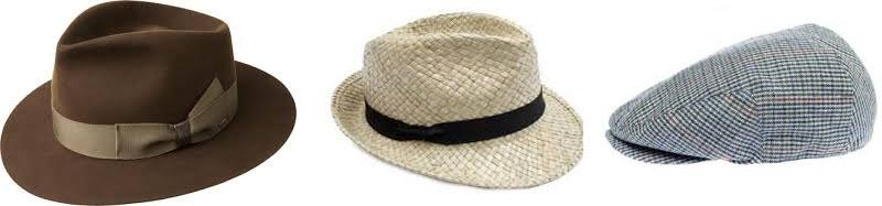 materiali cappelli da uomo