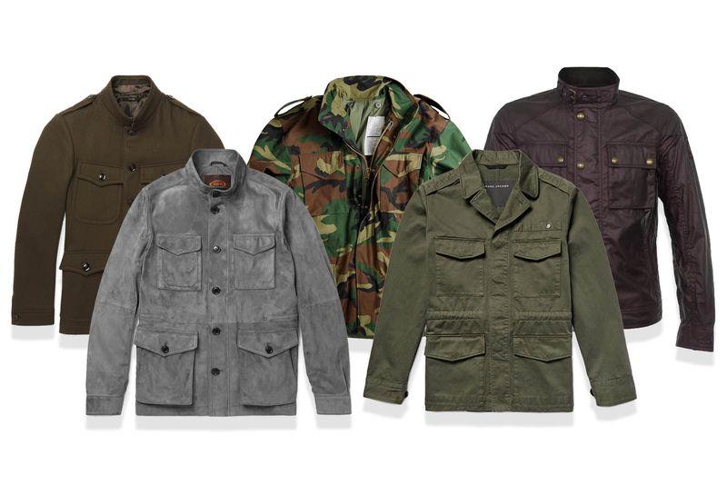 colori field jacket