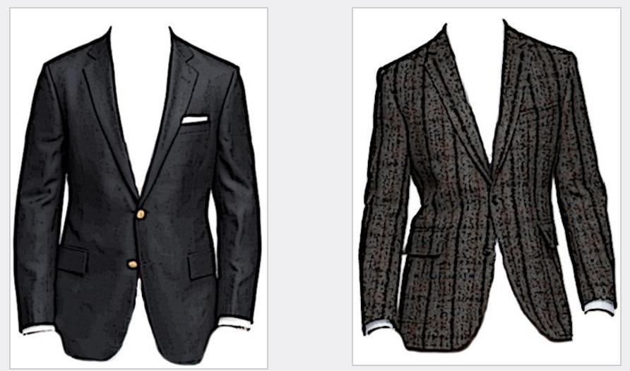 differenza giacca sportiva e blazer
