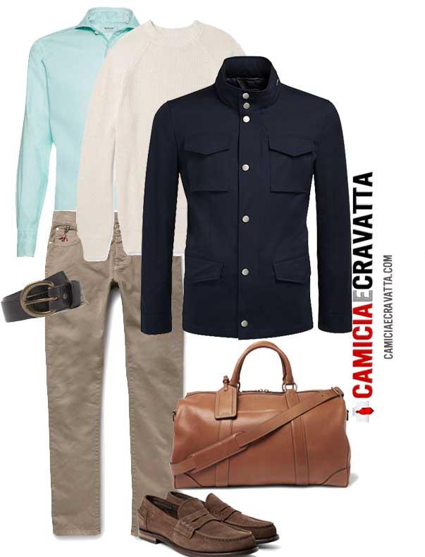 Outfit e texture di primavere