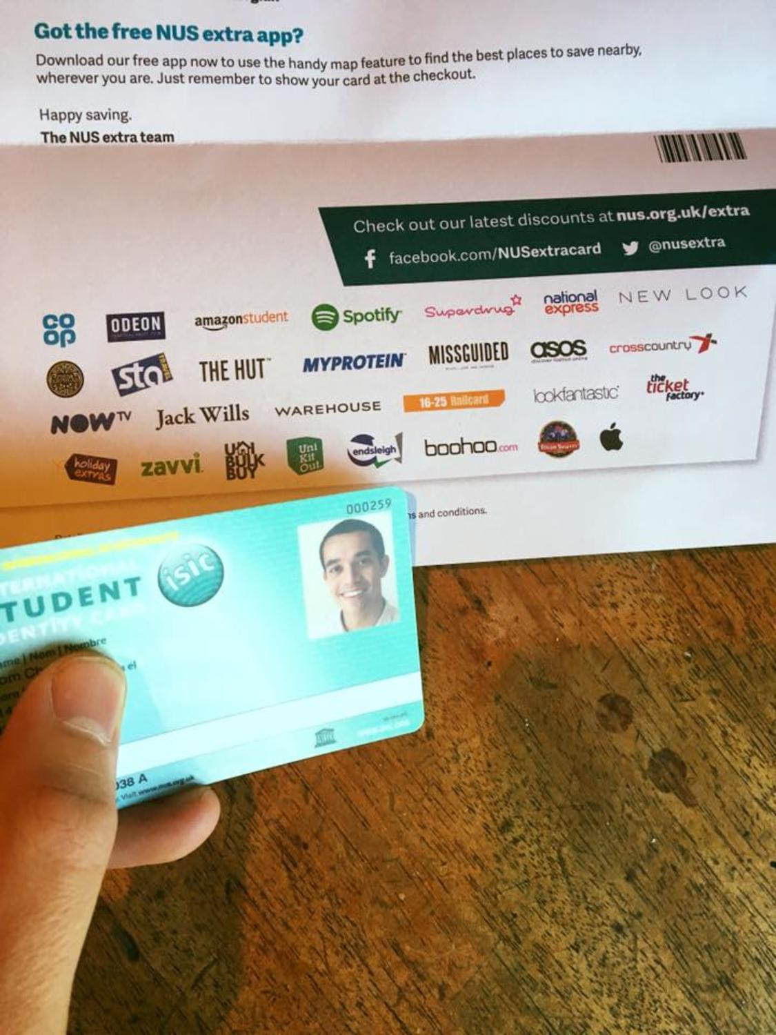 How to get an NUS card when not a student