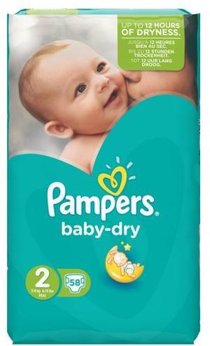 Buy One Get One Free 58x Pampers Nappies Deal at Tesco