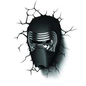 Star Wars Kylo Ren 3D Light £9.99 C&C or £12.98 Delivered at Maplin