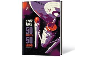 Win A Star Trek Art Book