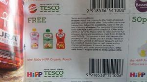 FREE Hipp Organic Baby Food