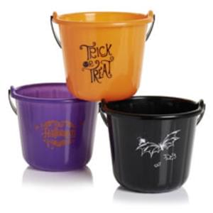 Halloween Buckets for Trick or Treating 50p
