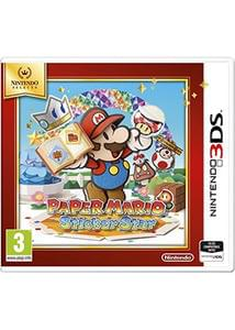 Paper Mario Sticker Star Selects (Nintendo 3DS)