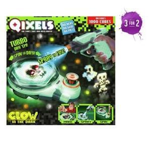 Qixels Fuse n' Dry Combo Pack.