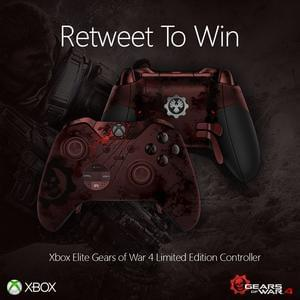 Win an Xbox Elite Gears of War 4 Controller