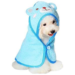 Kolylong New Fashion Cute Cartoon Dog Pet Bath Towel