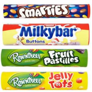 Large tubes of sweets 75p (was £1) at Wilko online and in-store