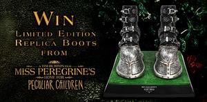 Limited Edition Replica Boots from Miss Peregrine's Home for Peculiar Children
