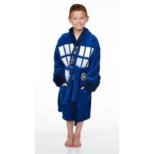Doctor Who Tardis Kids Dressing Gown £8.99 using code