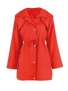 Strawberrry Red Raincoat For Just £2.00 + FREE Delivery