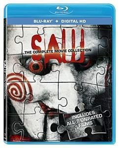 Saw: The Complete Movie Collection [Blu-ray] [US Import][Region Free]