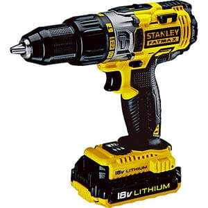 Stanley Fatmax Cordless Hammer Drill with 2 x Batteries- 18V