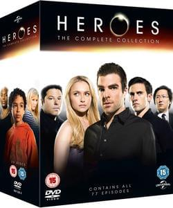 Heroes - The Complete Box Set DVD